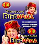EuroMAMA Prepaid Calling Card