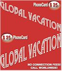 Global Vacation Prepaid Calling Card