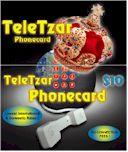 TeleTzar Prepaid Calling Card
